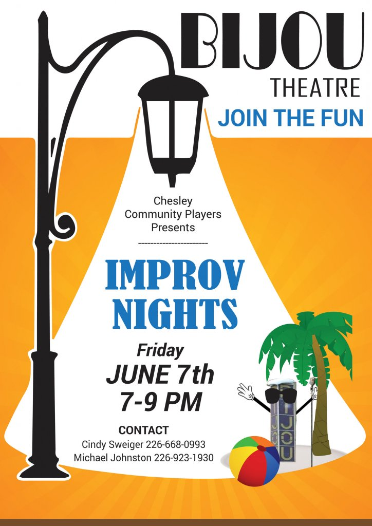 Improv Poster for June 7.
